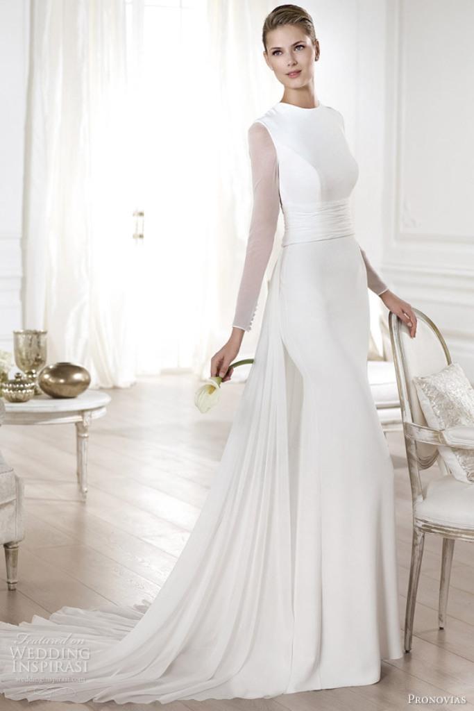 Muslim-wedding-dresses-20 46 Fabulous Wedding Dresses for Muslim Brides 2019