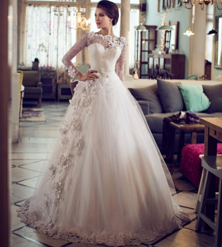 Muslim-wedding-dresses-23 46+ Fabulous Wedding Dresses for Muslim Brides