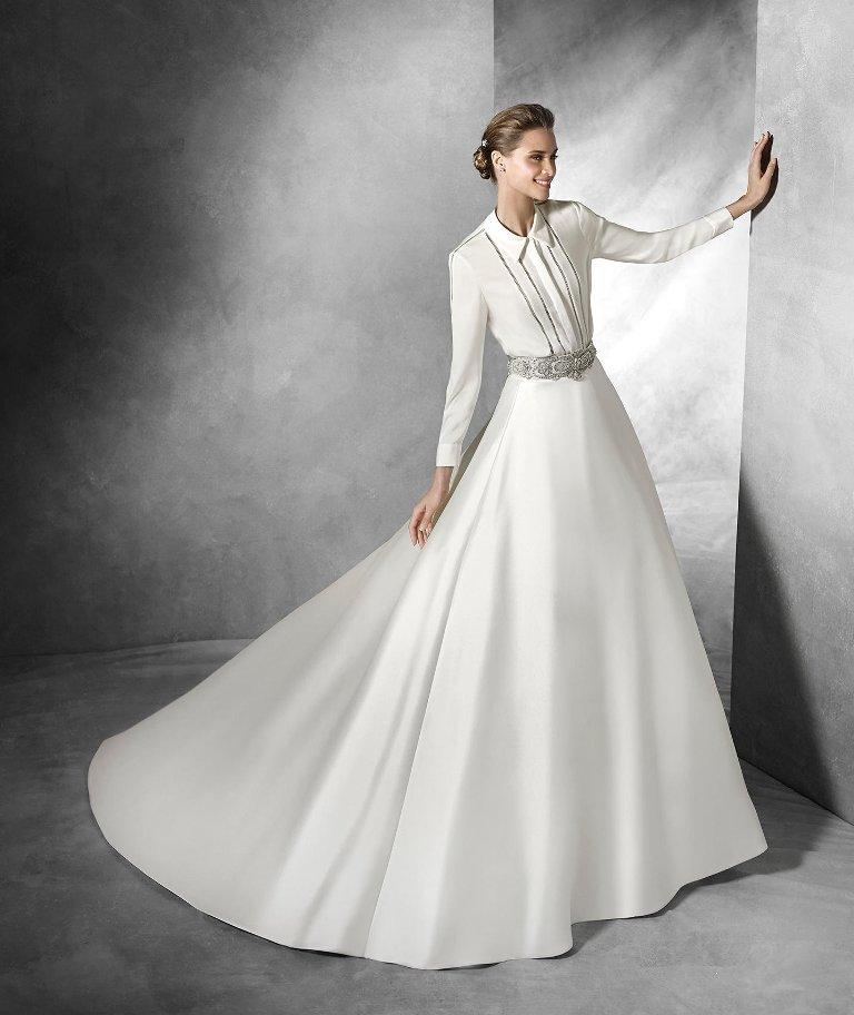Muslim-wedding-dresses-26 46 Fabulous Wedding Dresses for Muslim Brides 2019