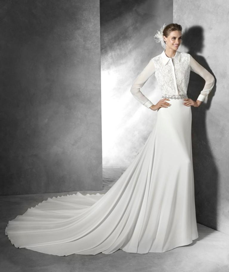 Muslim-wedding-dresses-29 46 Fabulous Wedding Dresses for Muslim Brides 2019