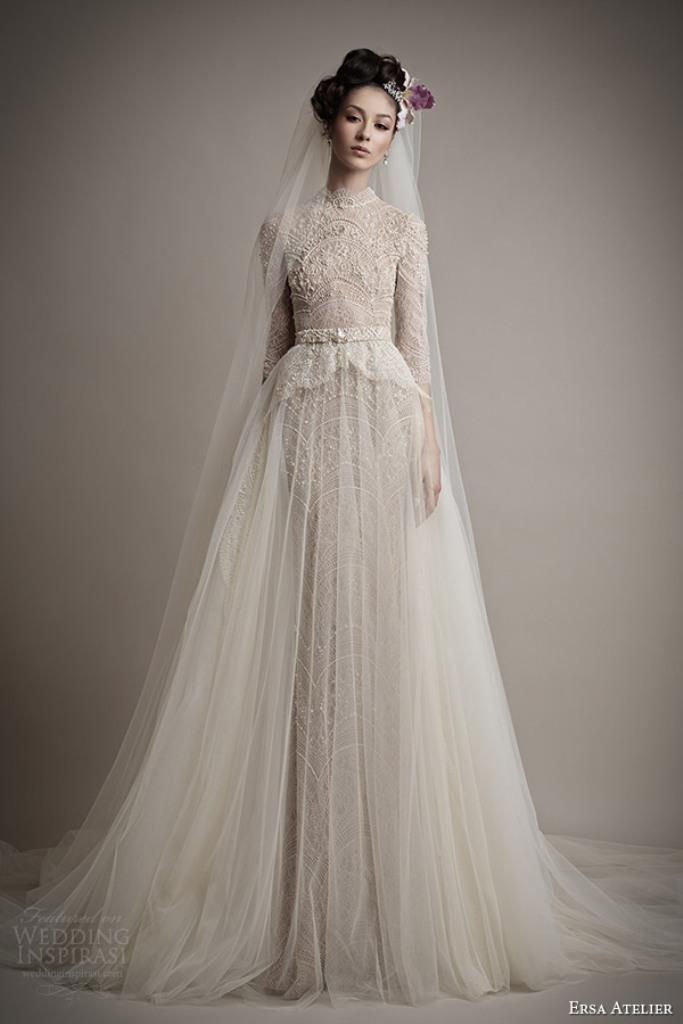Muslim-wedding-dresses-3 46 Fabulous Wedding Dresses for Muslim Brides 2019