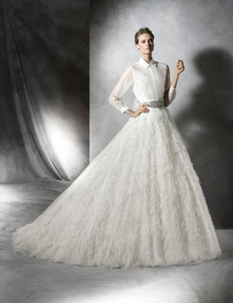 Muslim-wedding-dresses-30 46+ Fabulous Wedding Dresses for Muslim Brides
