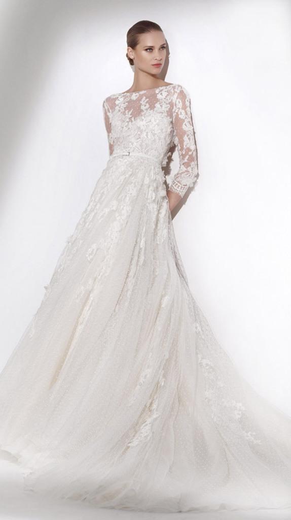 Muslim-wedding-dresses-31 46 Fabulous Wedding Dresses for Muslim Brides 2019