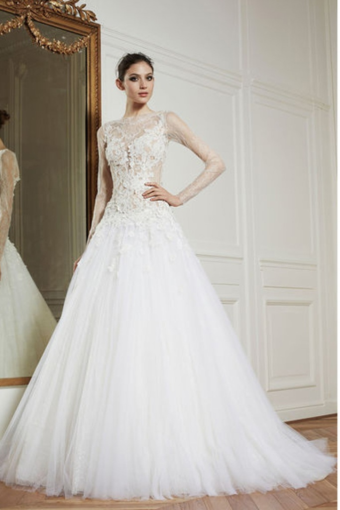 Muslim-wedding-dresses-35 46 Fabulous Wedding Dresses for Muslim Brides 2019