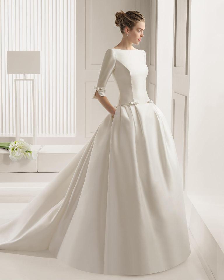 Muslim-wedding-dresses-37 46 Fabulous Wedding Dresses for Muslim Brides 2019