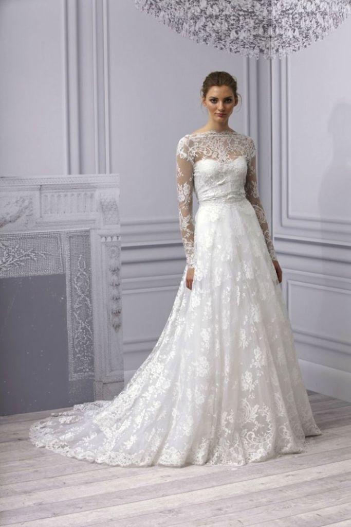 Muslim-wedding-dresses-42 46 Fabulous Wedding Dresses for Muslim Brides 2019
