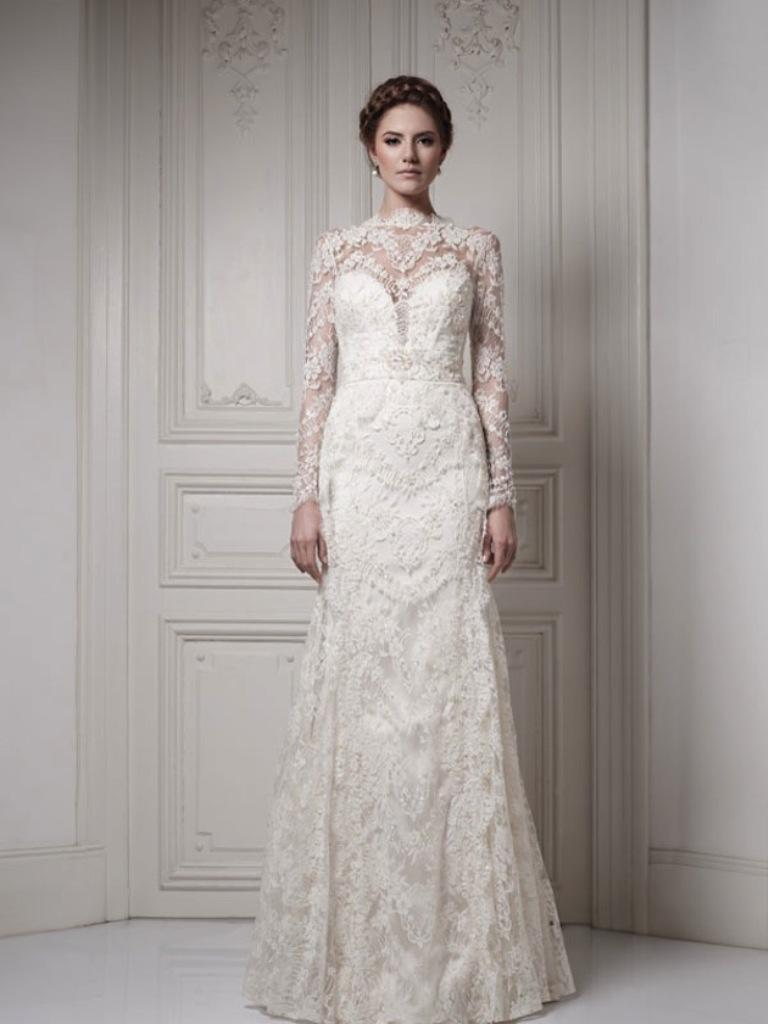 Muslim-wedding-dresses-45 46 Fabulous Wedding Dresses for Muslim Brides 2019