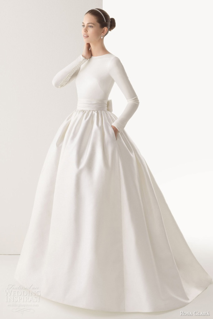 Muslim-wedding-dresses-5 46 Fabulous Wedding Dresses for Muslim Brides 2019