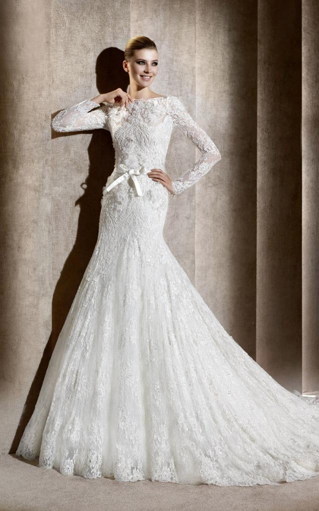 Muslim-wedding-dresses-8 46 Fabulous Wedding Dresses for Muslim Brides 2019