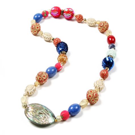 NSP-3005-Red-Blue-NaturalMOP-475x475 Accessorize Your Swimwear With These 40 Beach Jewelry