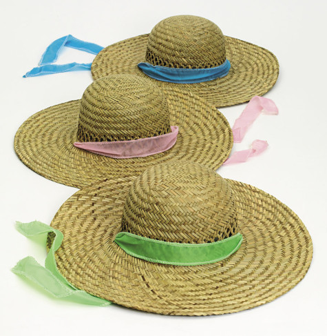 Straw-Hats-with-pastel-ribbons-475x487 Accessorize Your Swimwear With These 40 Beach Jewelry