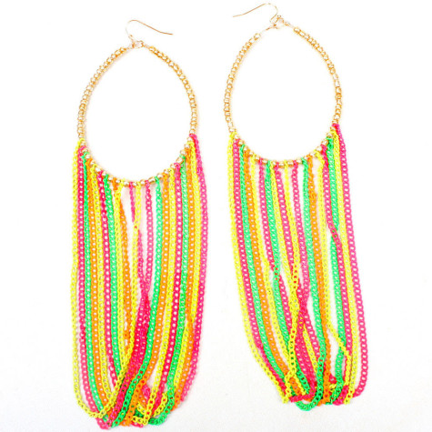 Zyx-Sweet-E4045-Gold-Multi-Earrings-Womens-Fashion-475x475 Accessorize Your Swimwear With These 40 Beach Jewelry