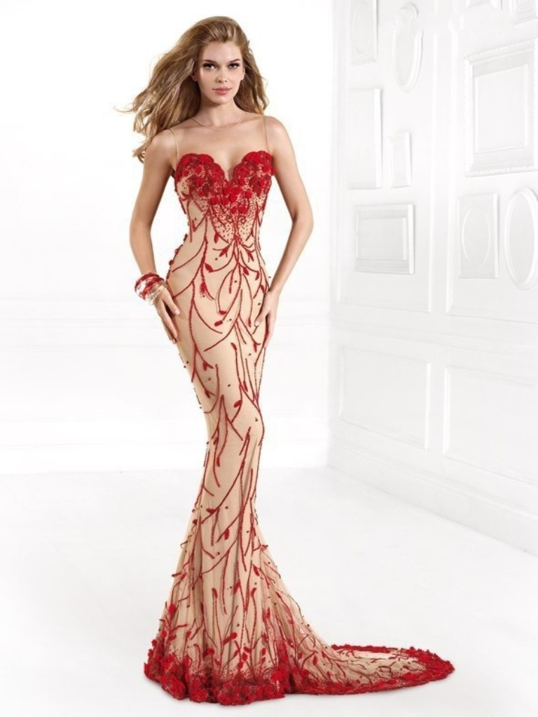 evening-dresses-2016-22 76 Marvelous & Stunning Evening Dresses 2017