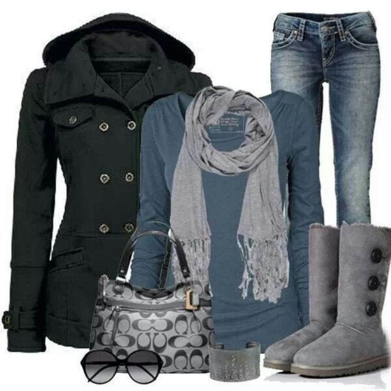 fall-and-winter-outfits-2016-12 79 Elegant Fall & Winter Outfit Ideas