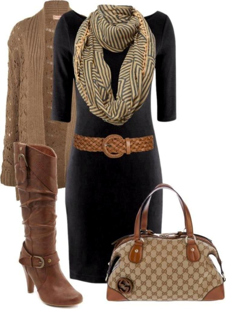 fall-and-winter-outfits-2016-17 79 Elegant Fall & Winter Outfit Ideas