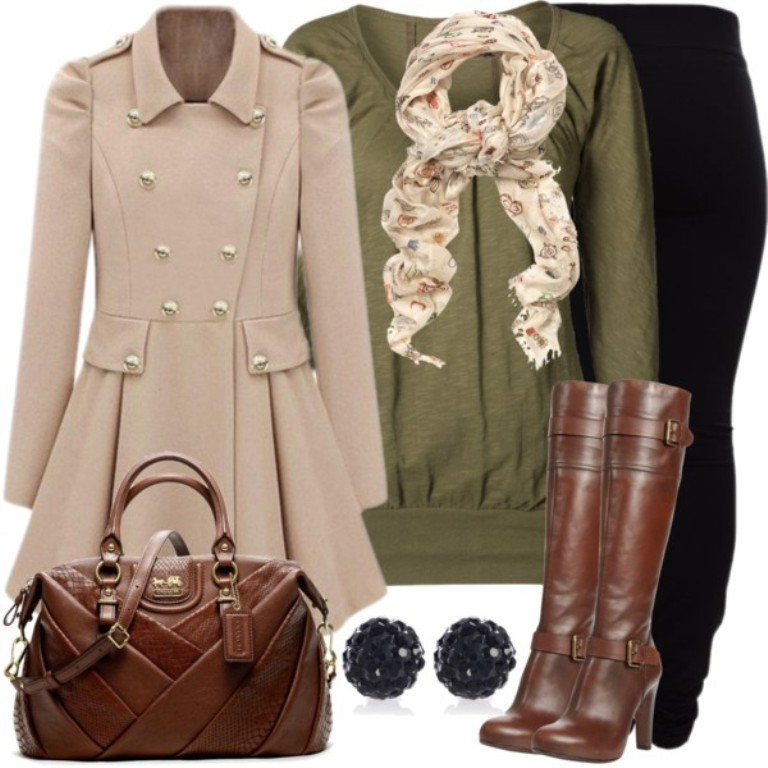fall-and-winter-outfits-2016-21 79 Elegant Fall & Winter Outfit Ideas