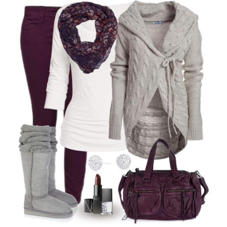 fall-and-winter-outfits-2016-26 79 Elegant Fall & Winter Outfit Ideas