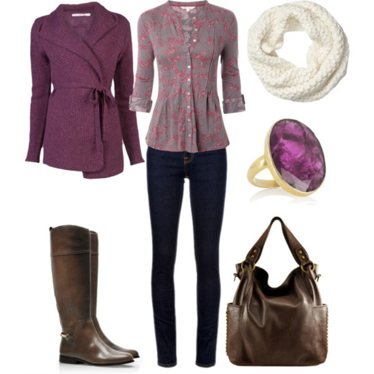 fall-and-winter-outfits-2016-52 79 Elegant Fall & Winter Outfit Ideas