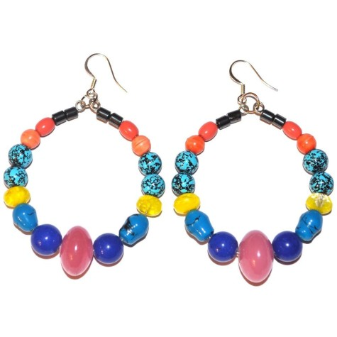 glass-ceramic-blue-jade-beads-earring-hooks-475x475 Accessorize Your Swimwear With These 40 Beach Jewelry