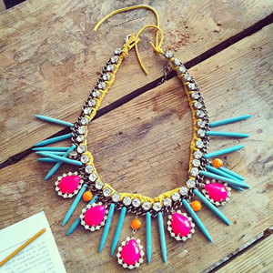 neon-jewelry1 Accessorize Your Swimwear With These 40 Beach Jewelry