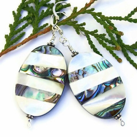 paua_shell_mother_of_pearl_handmade_earrings_beach_jewelry_ooak_silver_0164d19c-475x475 Accessorize Your Swimwear With These 40 Beach Jewelry