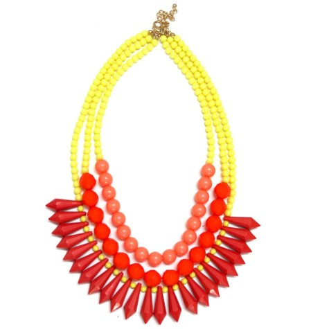 red-beads-multistrand-necklace-and-earrings-set-3-475x475 Accessorize Your Swimwear With These 40 Beach Jewelry