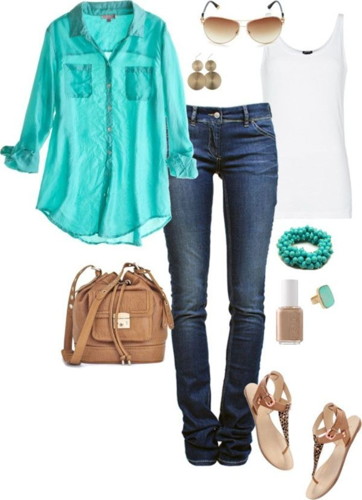 spring-and-summer-outfits-2016-15 81 Stylish Spring & Summer Outfit Ideas 2021