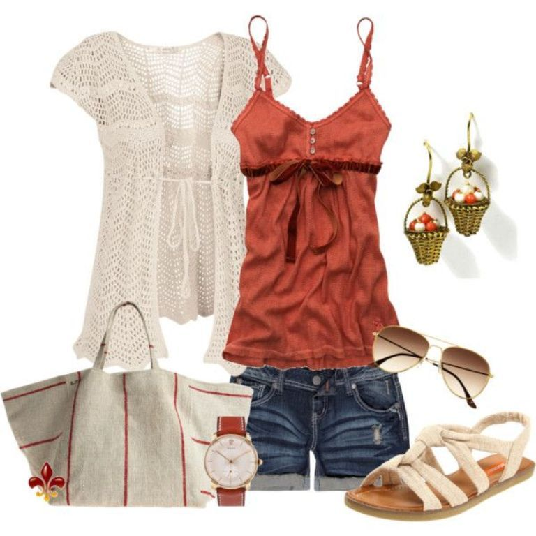 spring-and-summer-outfits-2016-27 75 Hottest Spring & Summer Outfit Ideas 2022