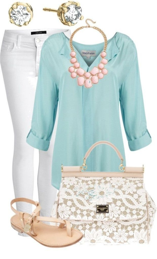 spring-and-summer-outfits-2016-50 75 Hottest Spring & Summer Outfit Ideas 2022