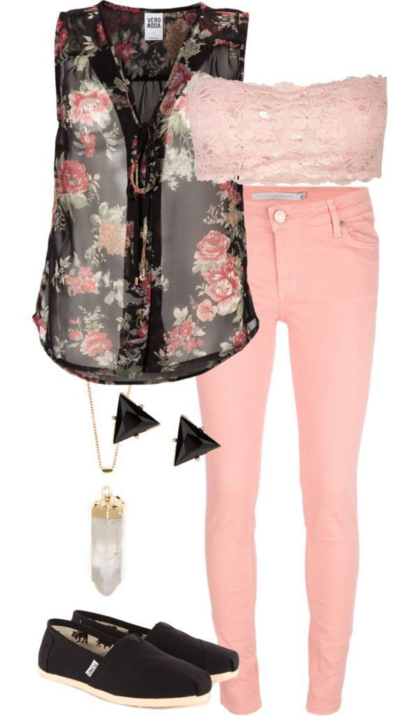 spring-and-summer-outfits-2016 81 Stylish Spring & Summer Outfit Ideas 2021