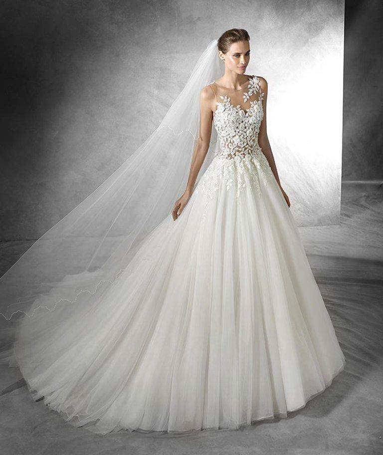 wedding-dresses-2016-17 54 Most Breathtaking Wedding Dresses in 2020