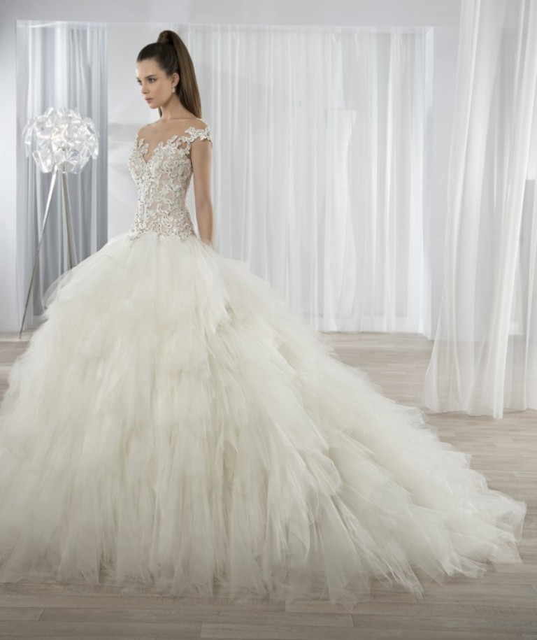 wedding-dresses-2016-19 54 Most Breathtaking Wedding Dresses in 2020