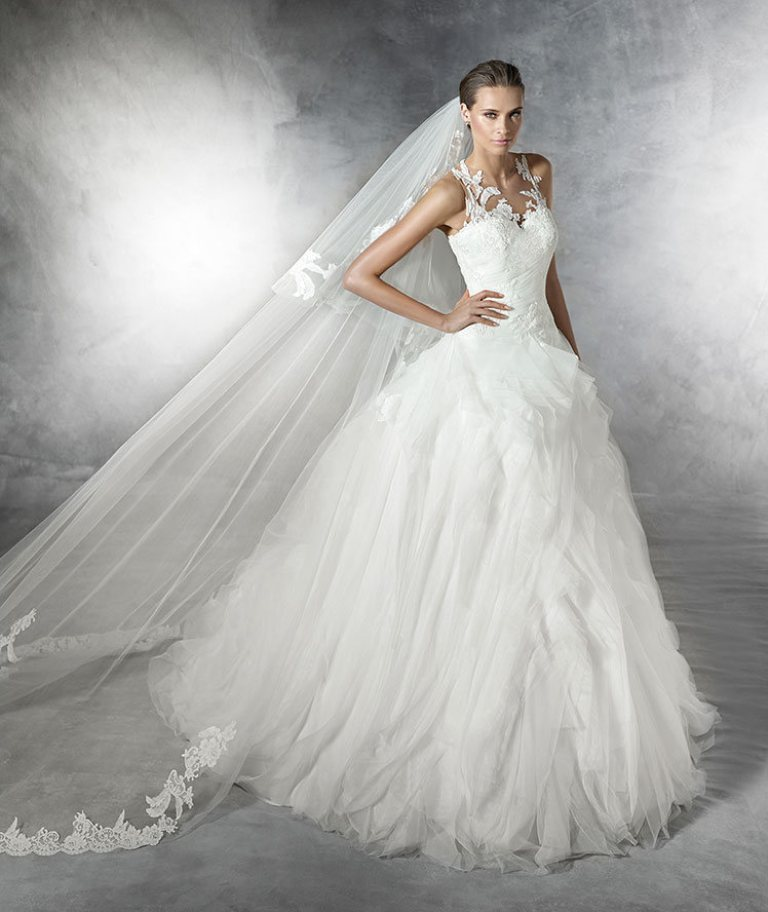 wedding-dresses-2016-27 54 Most Breathtaking Wedding Dresses in 2019