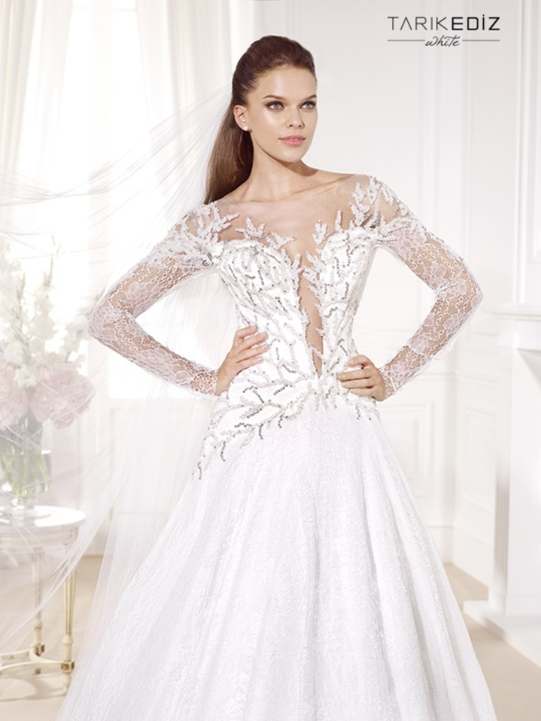 wedding-dresses-2016-34 54 Most Breathtaking Wedding Dresses in 2017