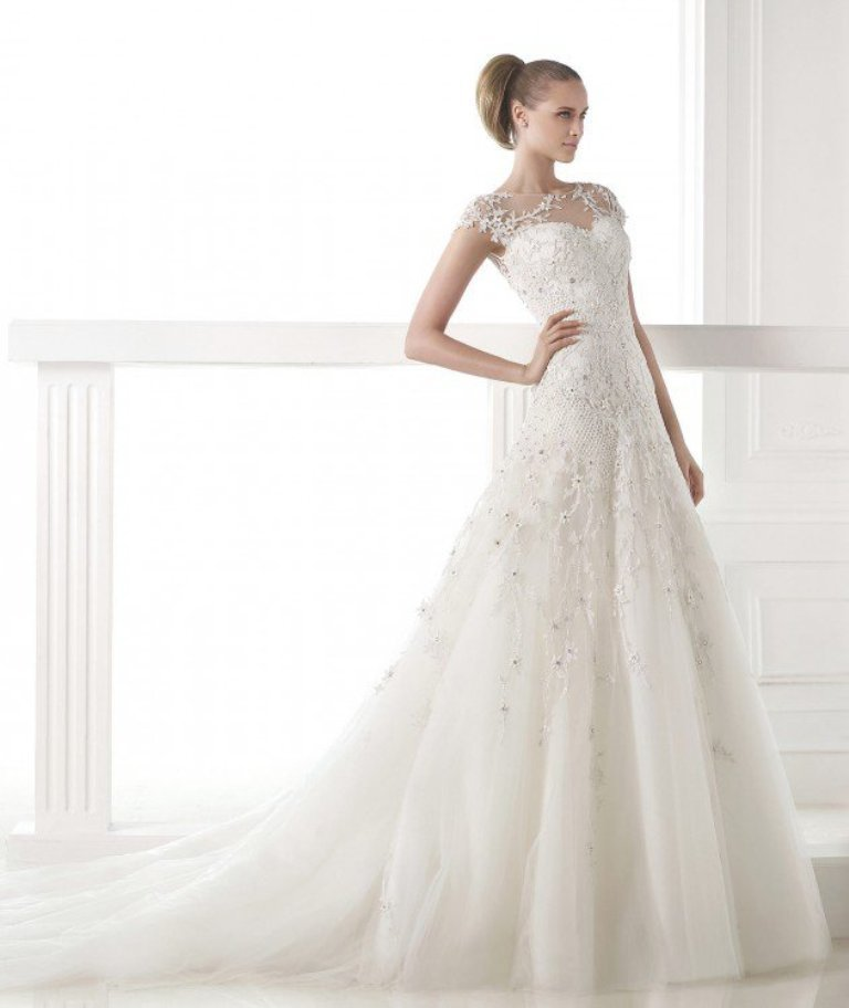 wedding-dresses-2016-6 54 Most Breathtaking Wedding Dresses in 2019