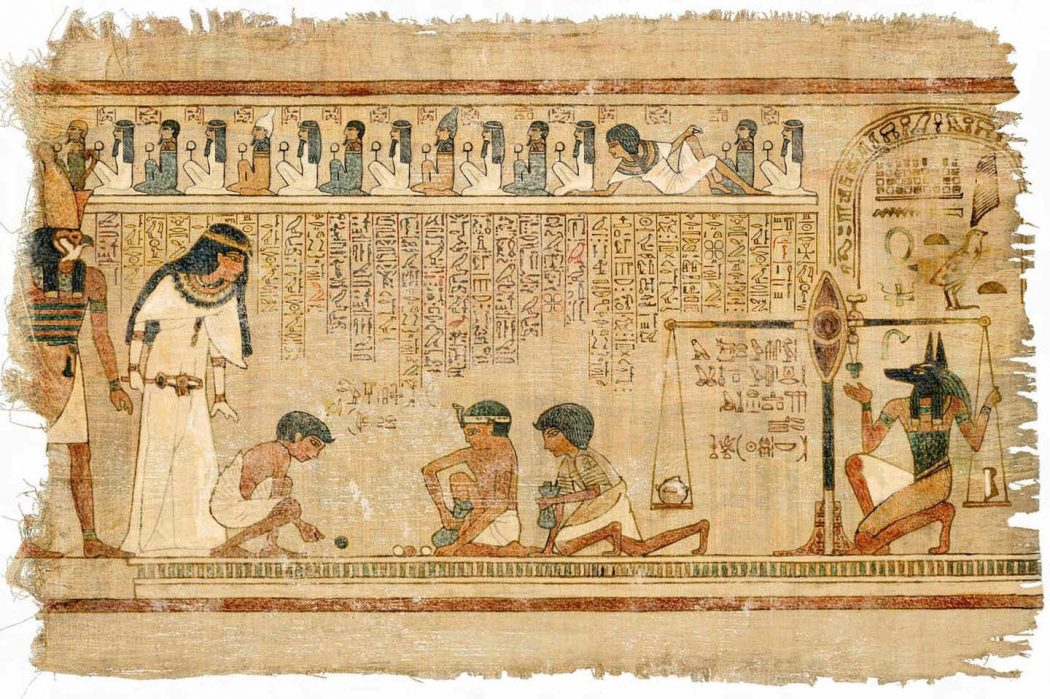 papyrus1 13 Fascinating Facts about Ancient Egypt