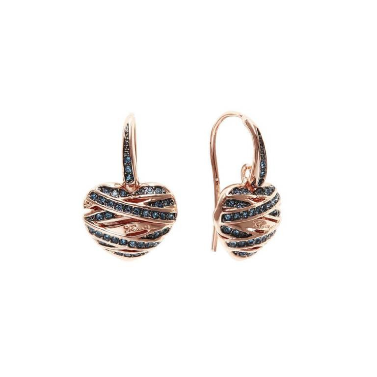 heart-shaped-earrings-1 22 Dazzling Valentine's Day Gifts for Women