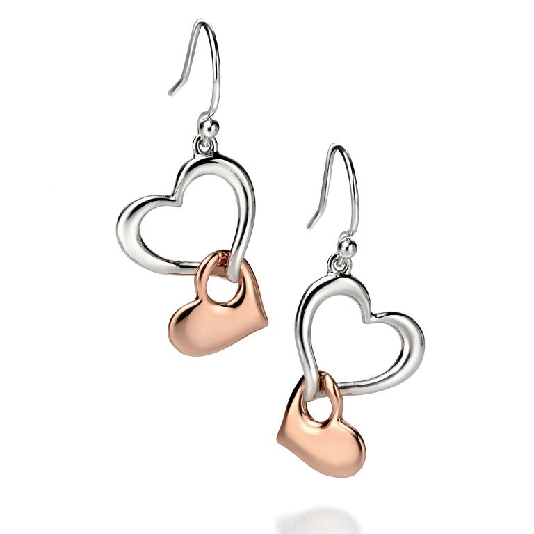 heart-shaped-earrings-2 22 Dazzling Valentine's Day Gifts for Women