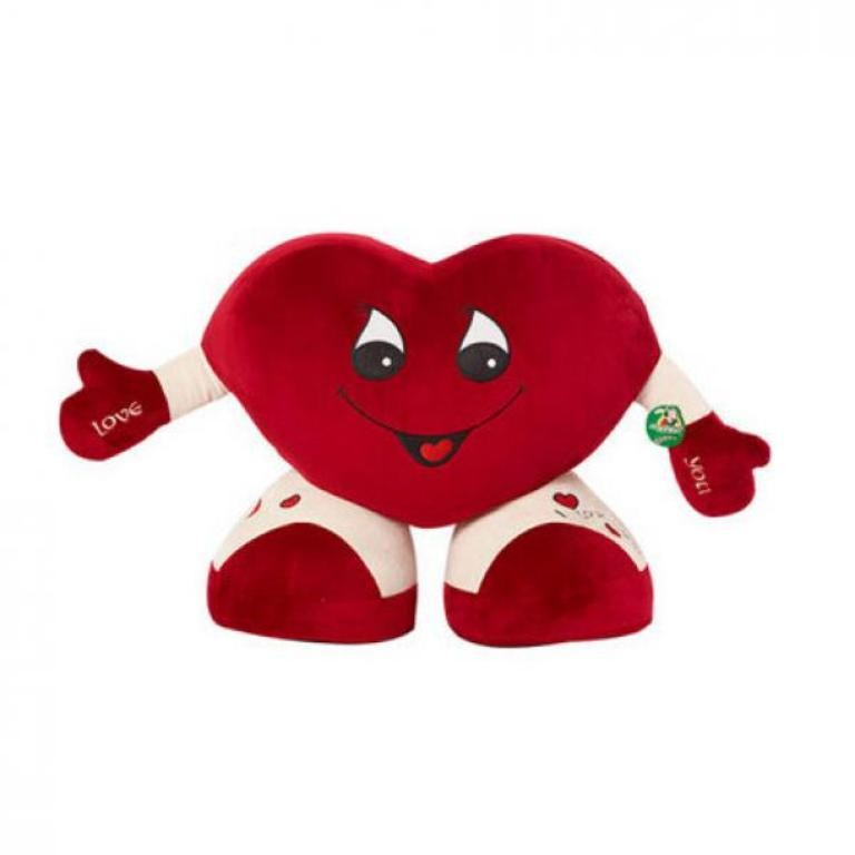 heart-shaped-pillow 22 Dazzling Valentine's Day Gifts for Women