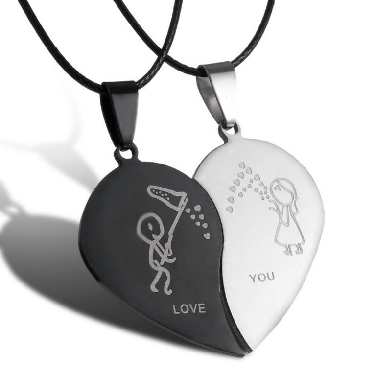 love-necklaces-3 22 Dazzling Valentine's Day Gifts for Women