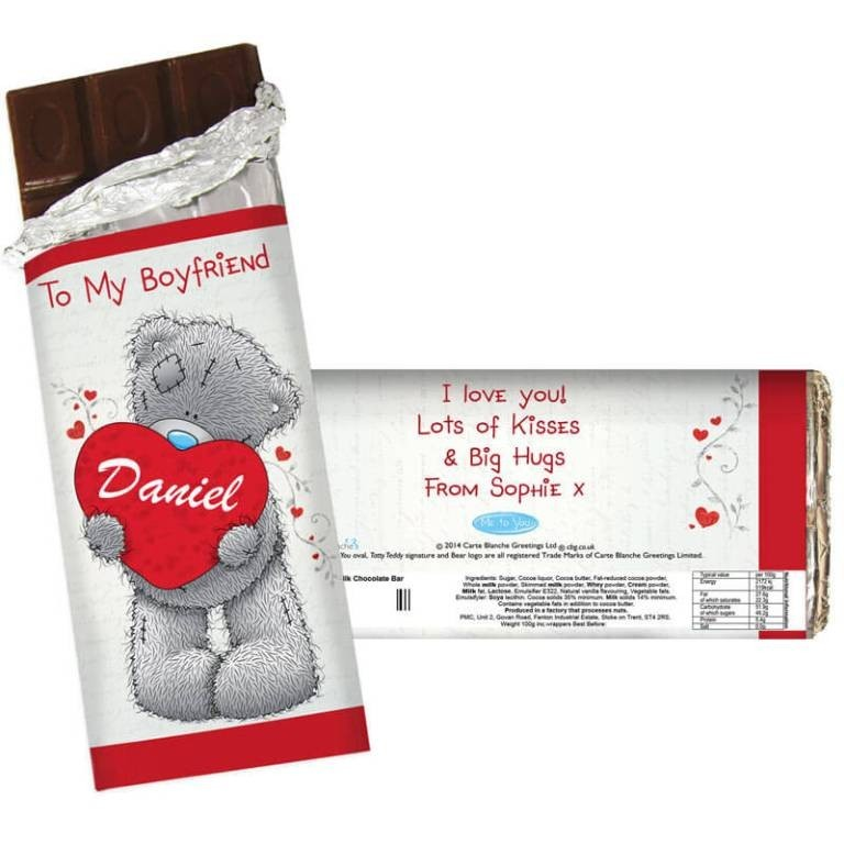 personalized-chocolate-bar 21 Amazing Valentine's Day Gifts for Men