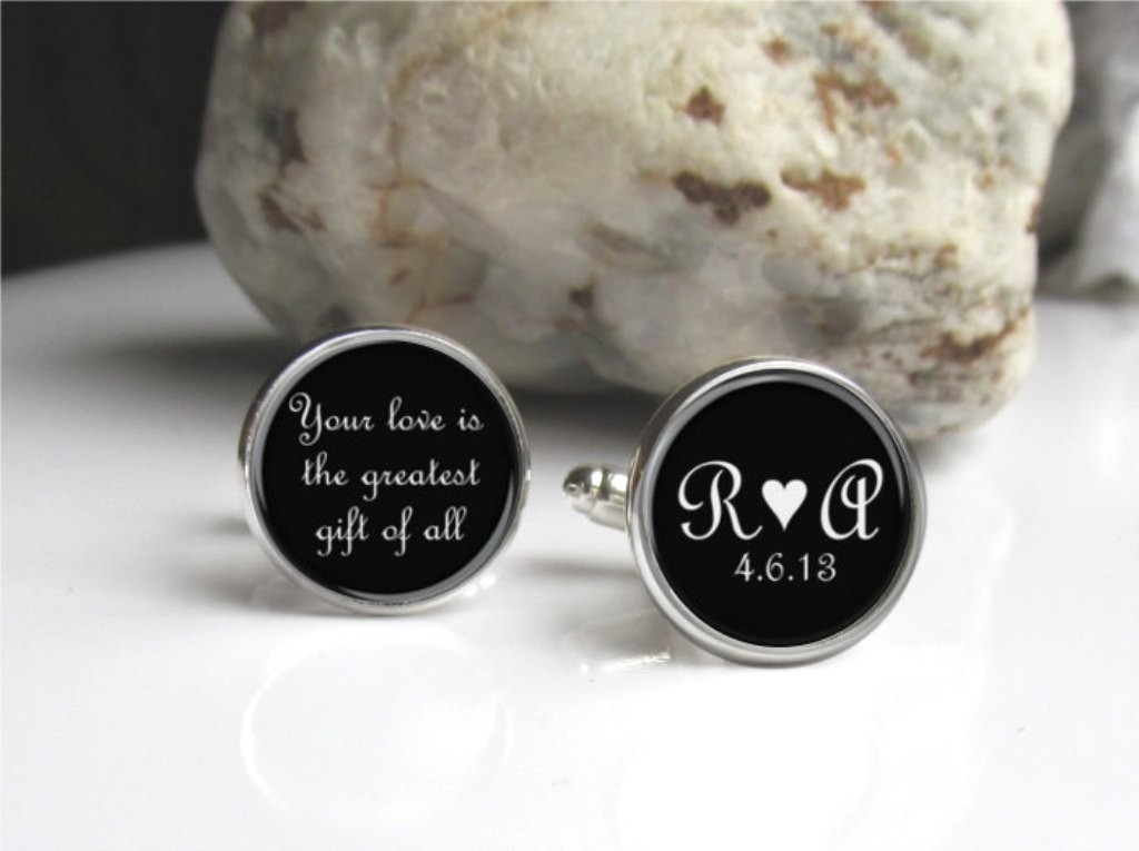 personalized-cufflinks 21 Amazing Valentine's Day Gifts for Men