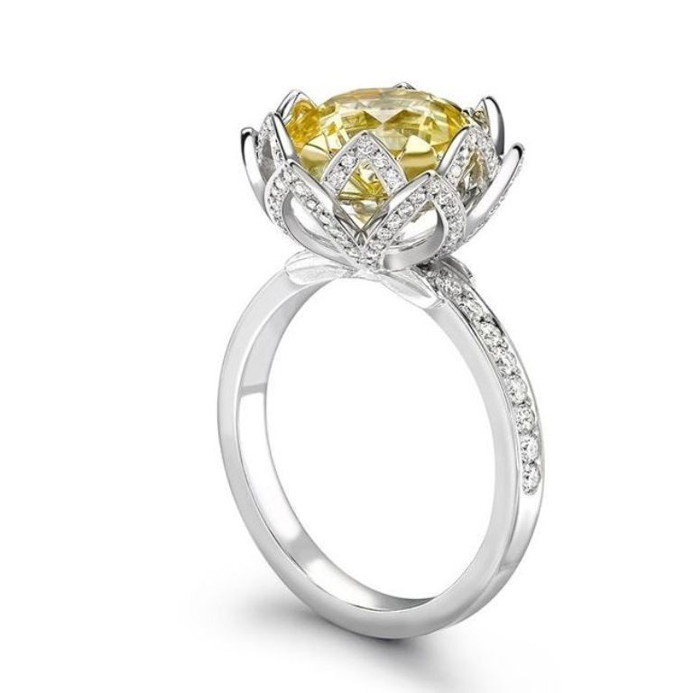stunning-engagement-ring-13 22 Dazzling Valentine's Day Gifts for Women