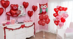 valentines day bedroom decoration (4)