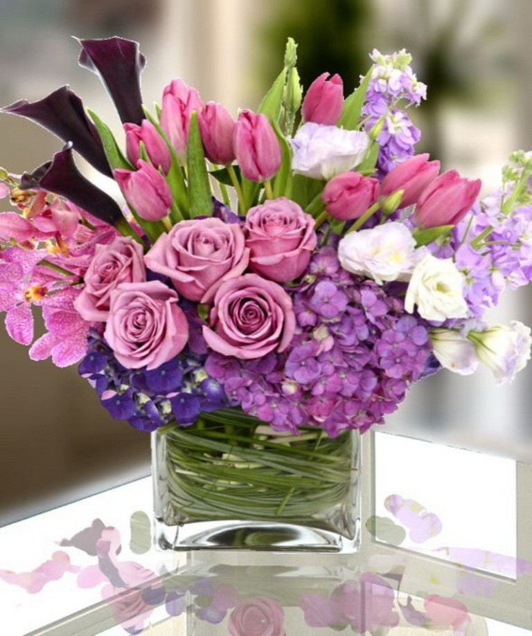 valentines-day-centerpieces-12 61 Awesome Valentine's Day Decoration Ideas