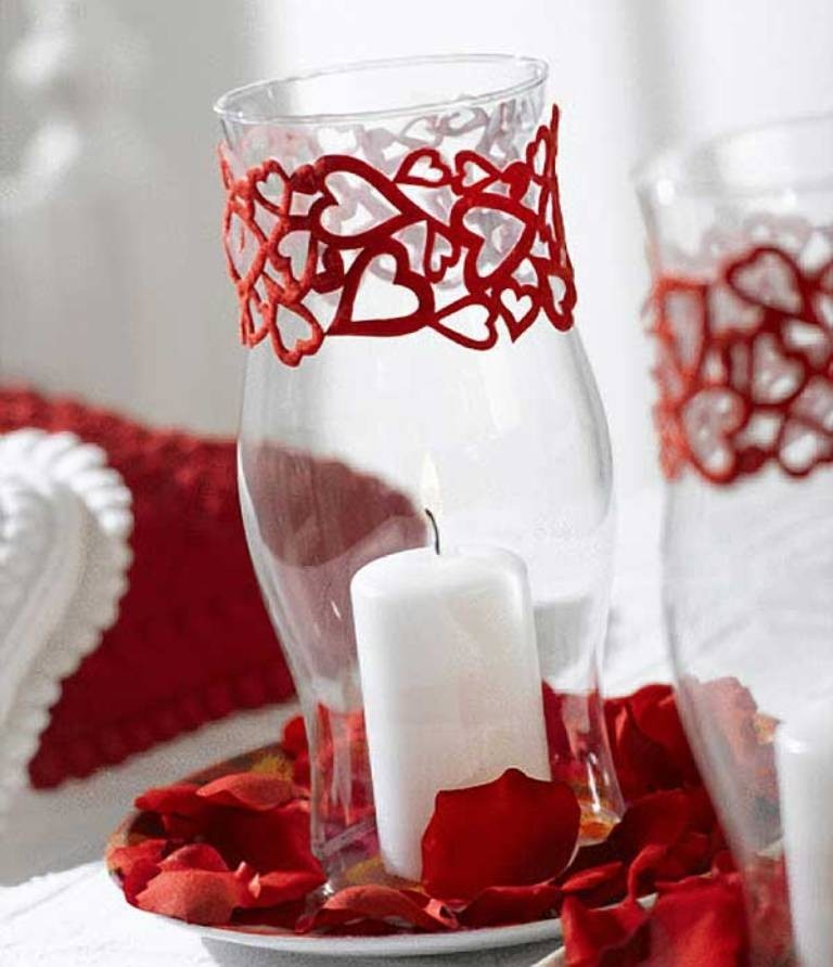 valentines-day-centerpieces-5 61 Awesome Valentine's Day Decoration Ideas