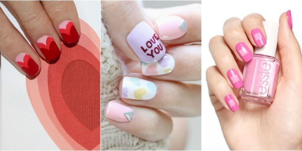 valentines-day-nails-11 89 Most Fabulous Valentine's Day Nail Art Designs
