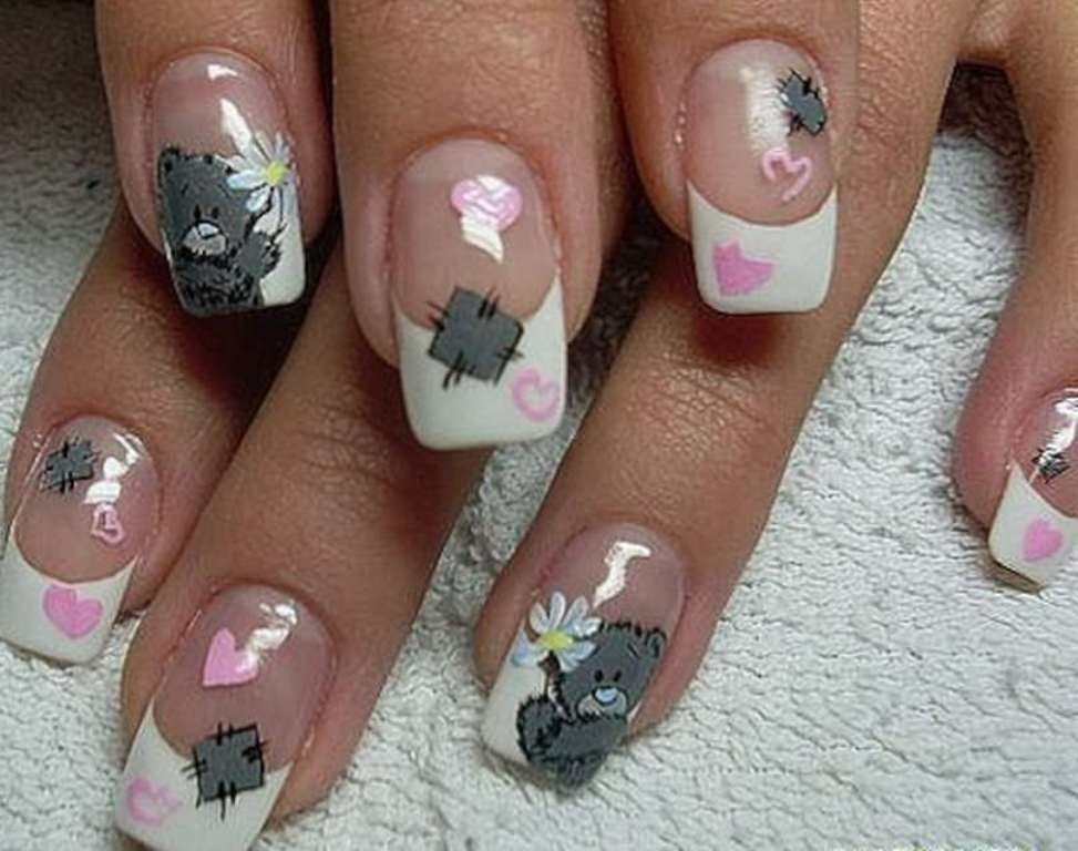 valentines-day-nails-15 89 Most Fabulous Valentine's Day Nail Art Designs