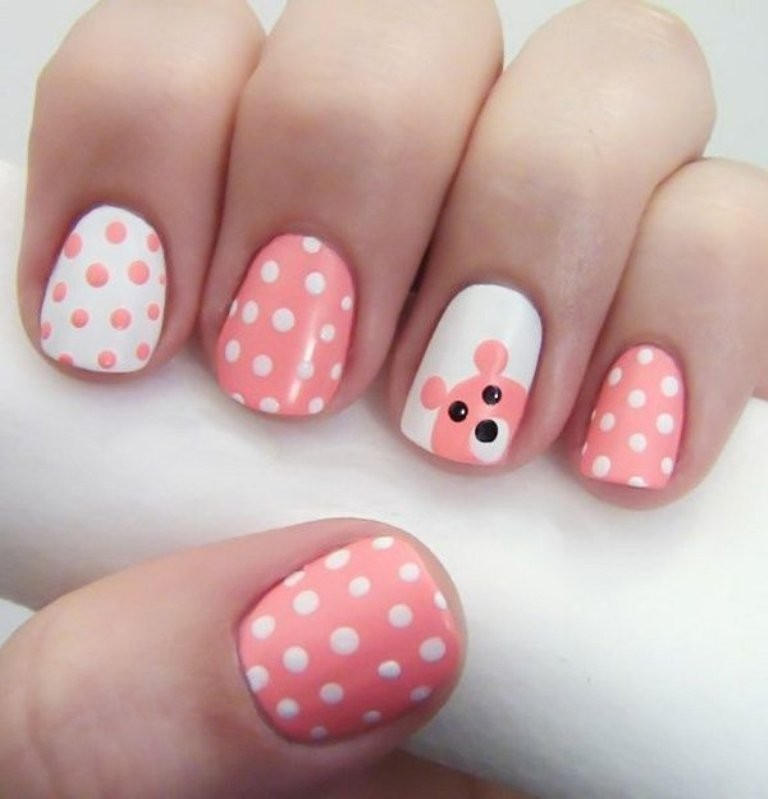 valentines-day-nails-19 89 Most Fabulous Valentine's Day Nail Art Designs