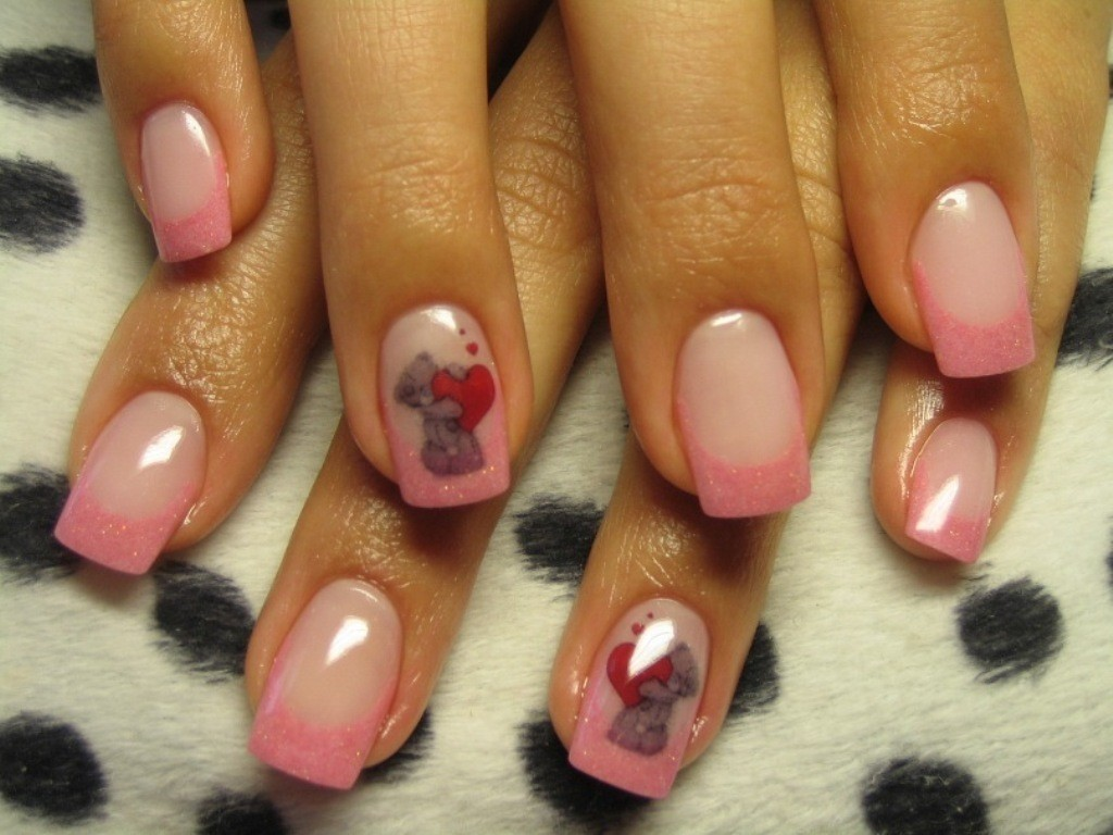 valentines-day-nails-2 89 Most Fabulous Valentine's Day Nail Art Designs